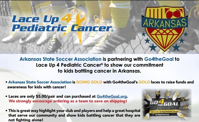 Lace Up 4 Pediatric Cancer